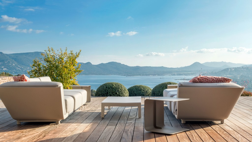 Stunning views over the Gulf of Porto-Vecchio